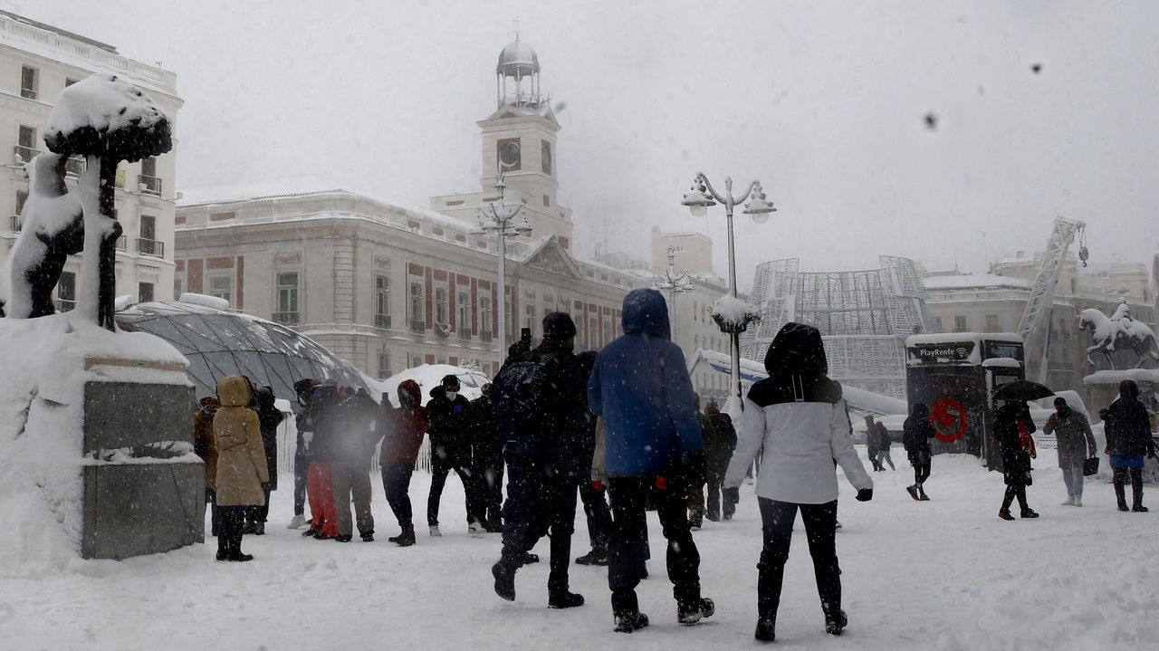 La Puerta del Sol este sábado