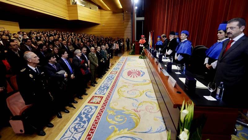 La Universidad celebra la festividad de su patrón