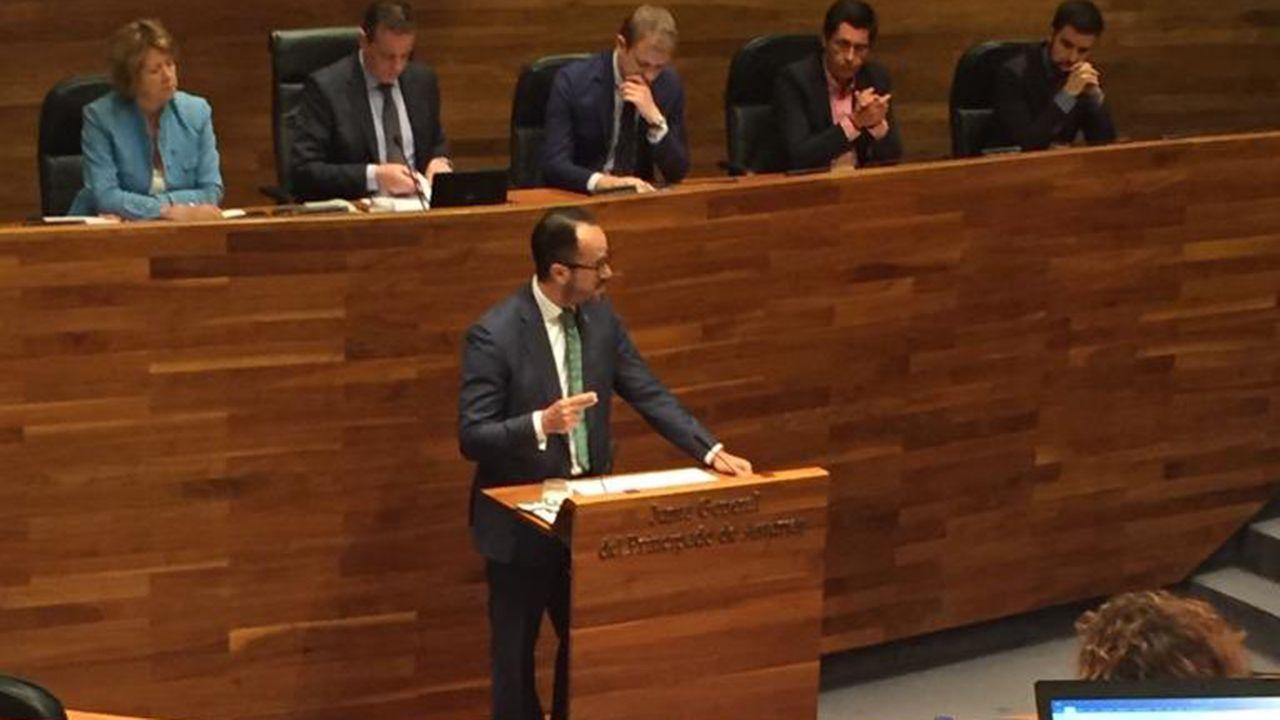 Ignacio Blanco en la Junta General