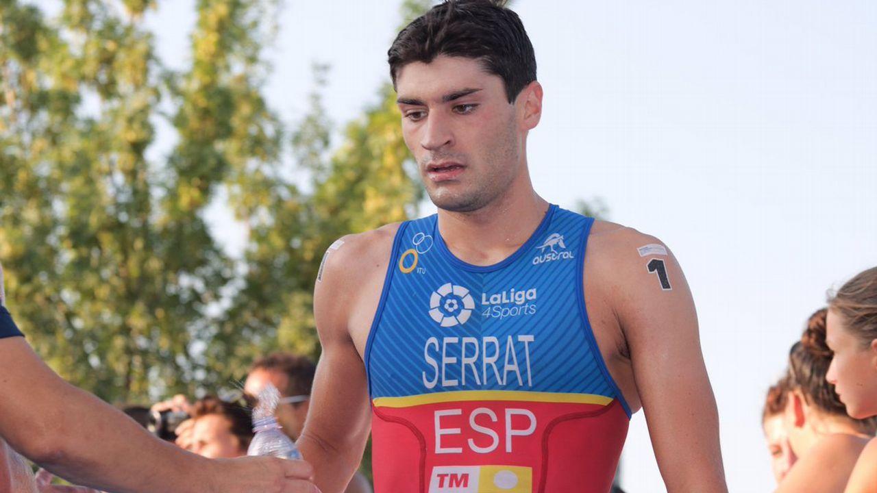 Antonio Serrat. Su progresión ha sido bestial. Lo que haga este año en las series mundiales de triatlón será clave.