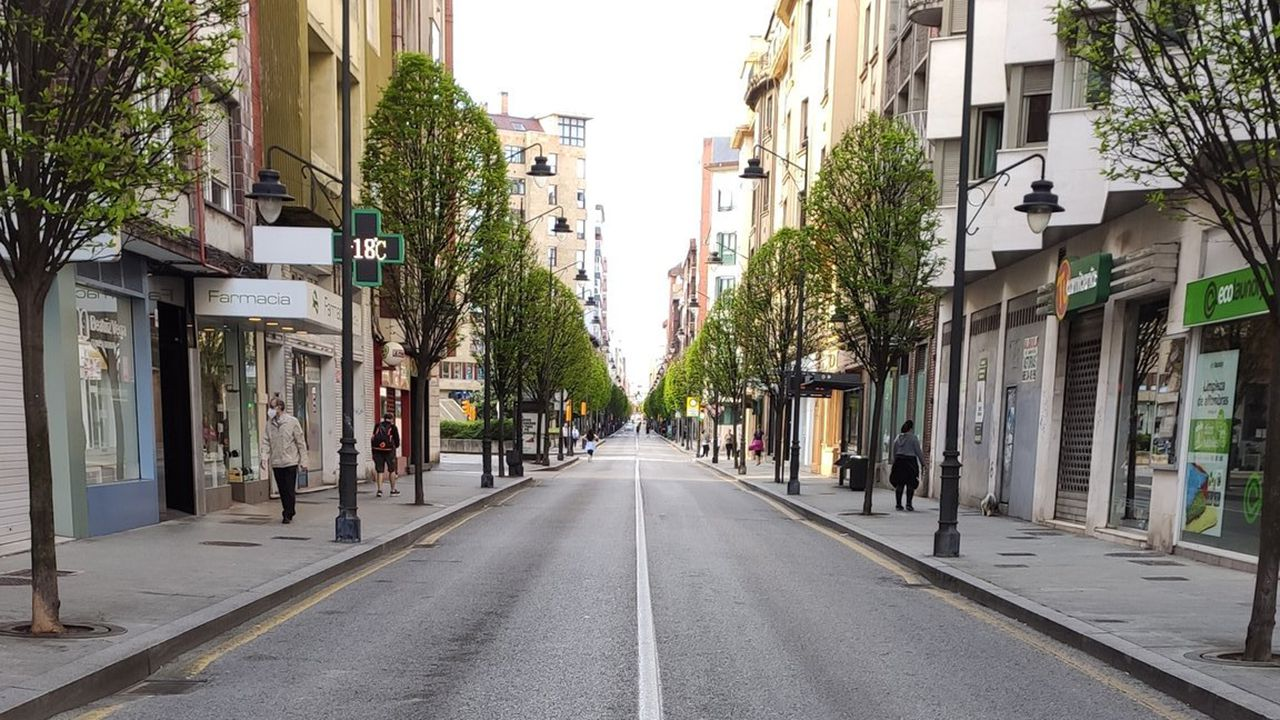 Así está Gijón en el segundo día del desconfinamiento