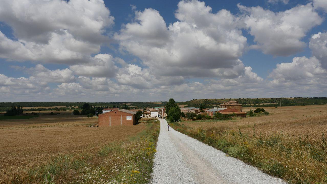 Localidades como Calzadilla de la Cueza solo rozan los cien habitantes