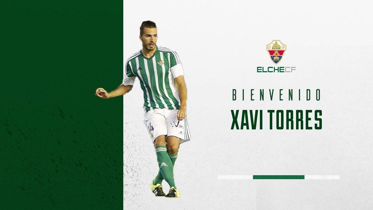 Xavi Torres, nuevo jugador del Elche