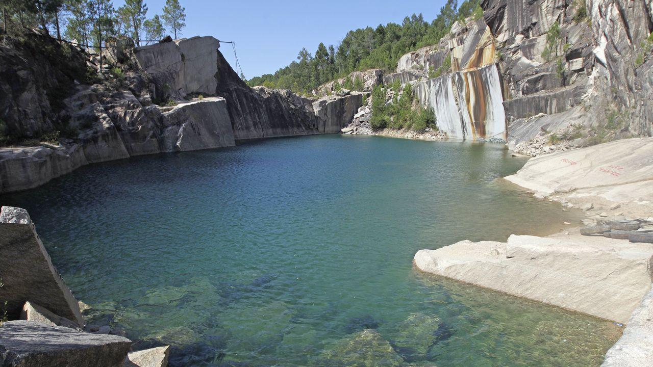 Los otros peligrosos lagos de Instagram, las canteras de O Porriño