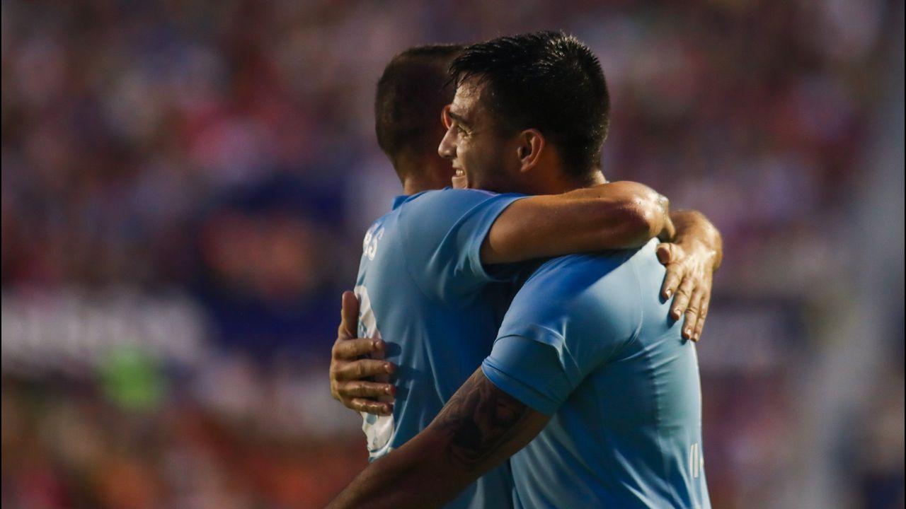 Las mejores imágenes del Celta - Valencia.El Toro Fernández se queda en Vigo