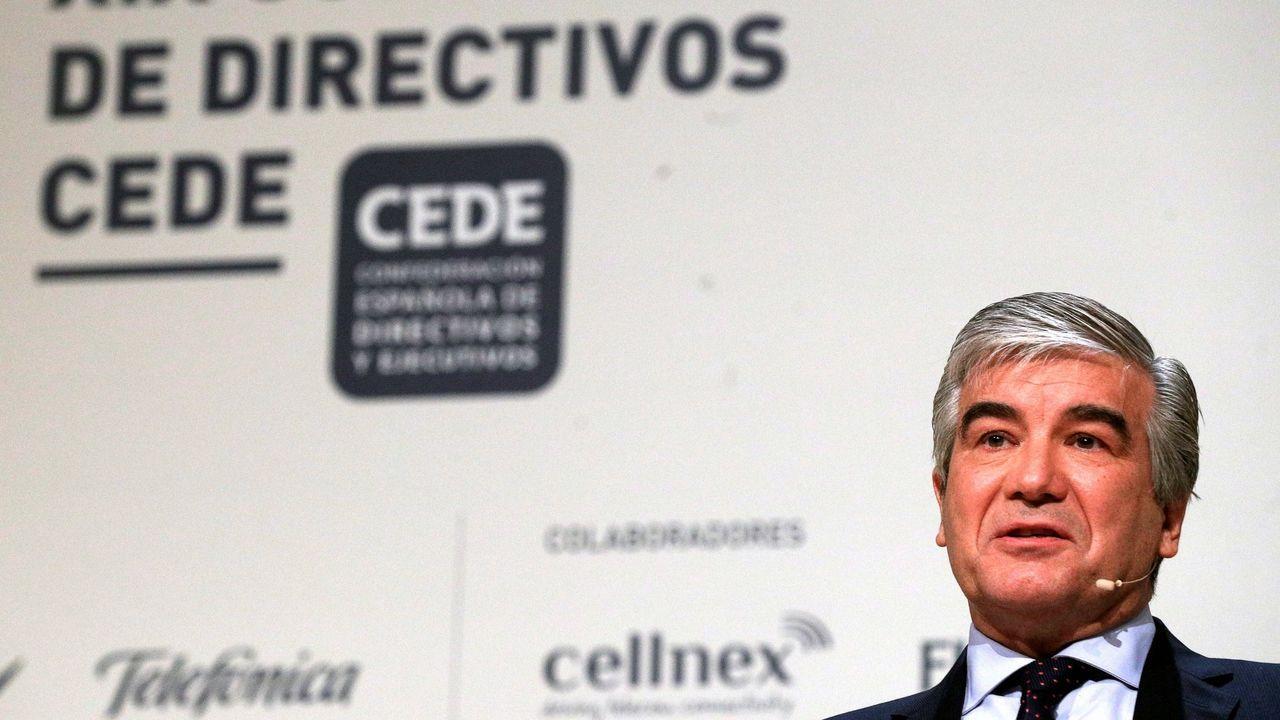 La Fábrica de la Luz lleva años en estado de abandono.Francisco Reynés, presidente de Naturgy