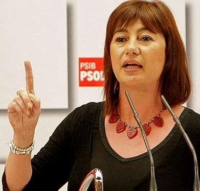 La votación de la ley de abdicación, en streaming.Armengol, secretaria del PSOE en Baleares, reclamó la celebración de un referendo vinculante