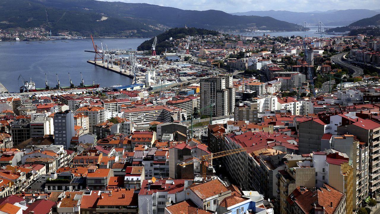 Oriana Méndez, concejala de En Marea en Vigo