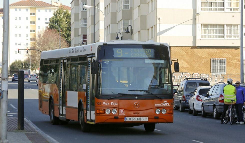 La aplicación dará información sobre los autobuses.