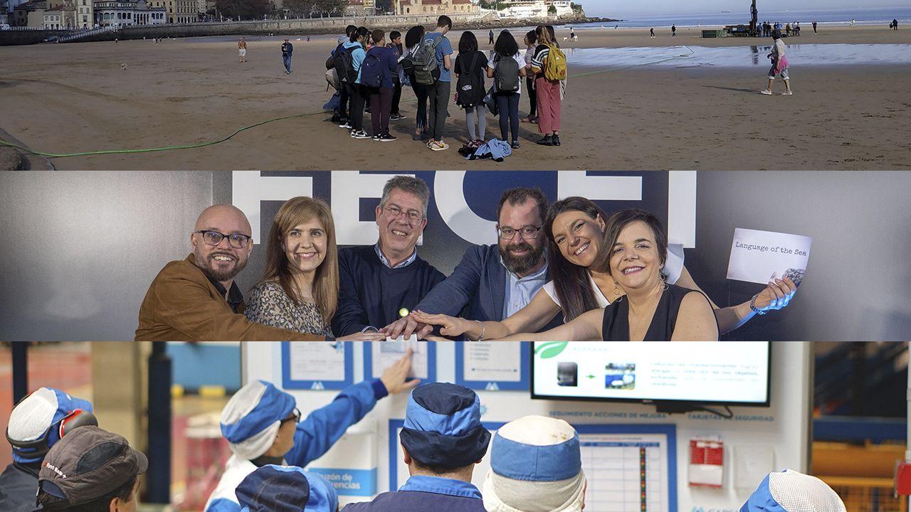 Todas las imágenes de la visita de Felipe y Letizia.Estos son los candidatos a llevarse el Semana Europea de Prevención de Residuos