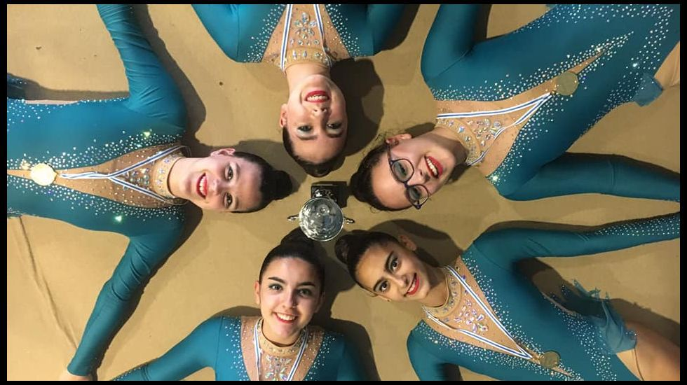 Presentación de la XVI edición del Torneo Nacional de gimnasia rítmica de La Corredoria