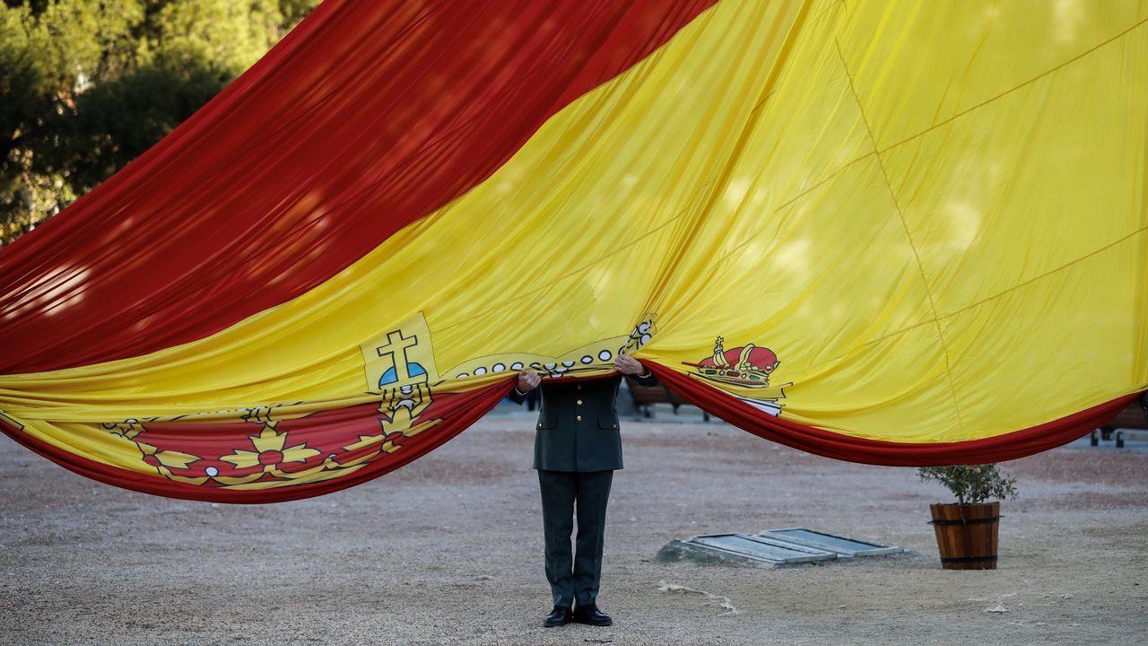 El 39 aniversario de la Constitución española.Protestas por el encarcelamiento de la joven palestina Ahed Tamimi