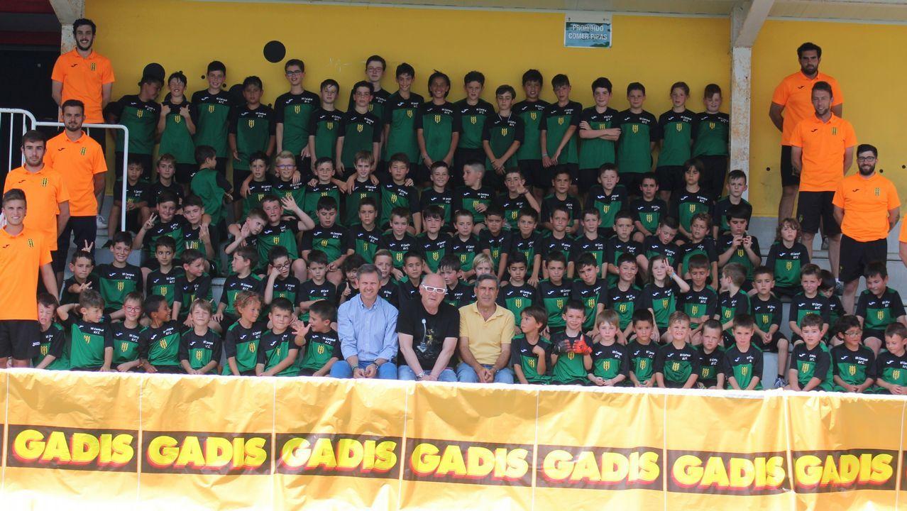 Éxito rotundo del primer torneo Vila do Roncudo ¡búscate en las imágenes!