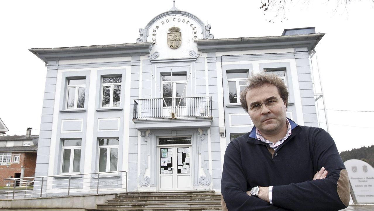 Francisco Balado, alcalde de Castro de Rei