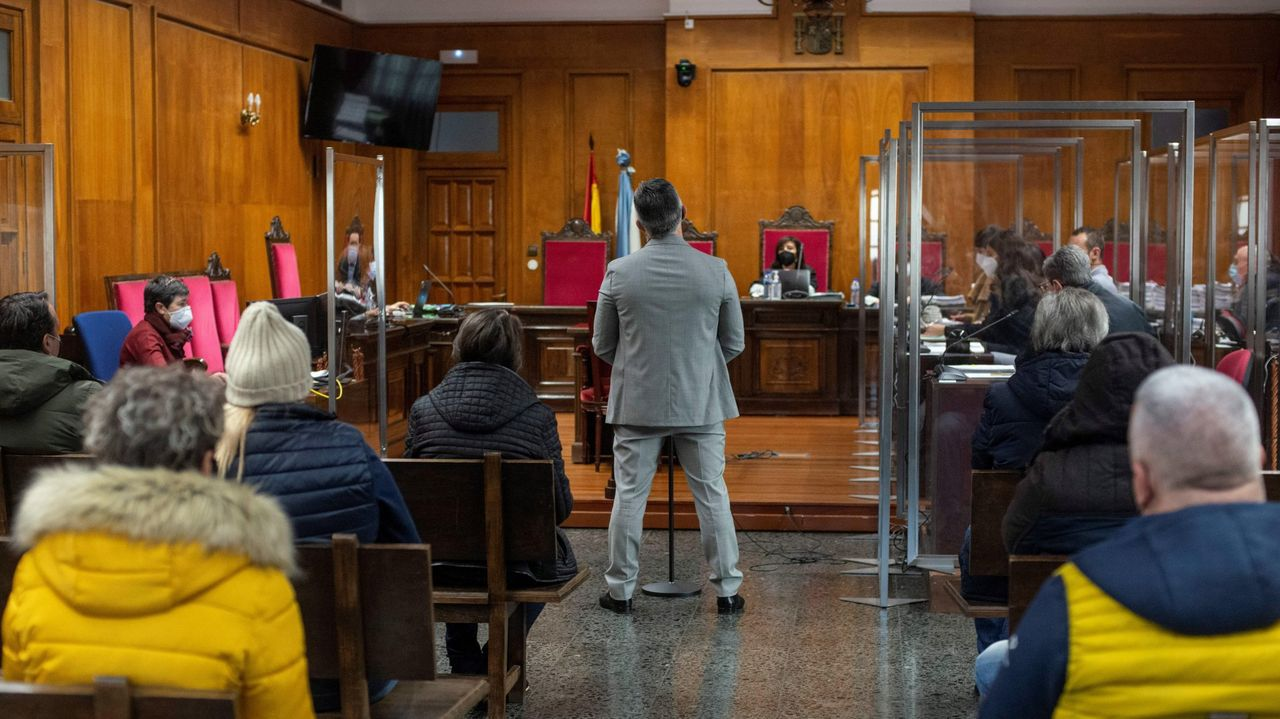 Rajoy, en el centro de la diana de Bárcenas.Juicio de la Operación Zamburiña, celebrado en enero en la Audiencia provincial