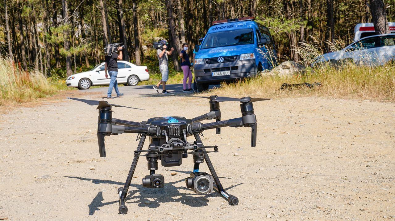 La Axencia Galega de Emerxencias movilizó una unidad de drones