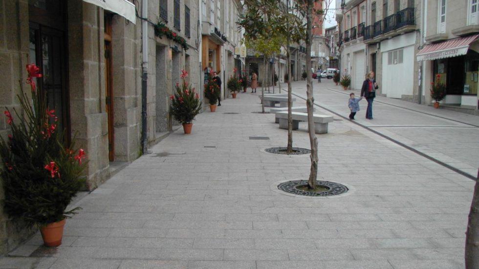 El accidente se produjo en la calle Leonardo Rodríguez de Chantada