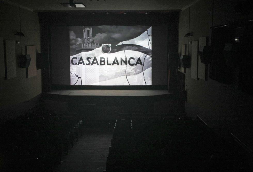 El Novocine de Leiro, en una fotografía de archivo, ofrece dos películas