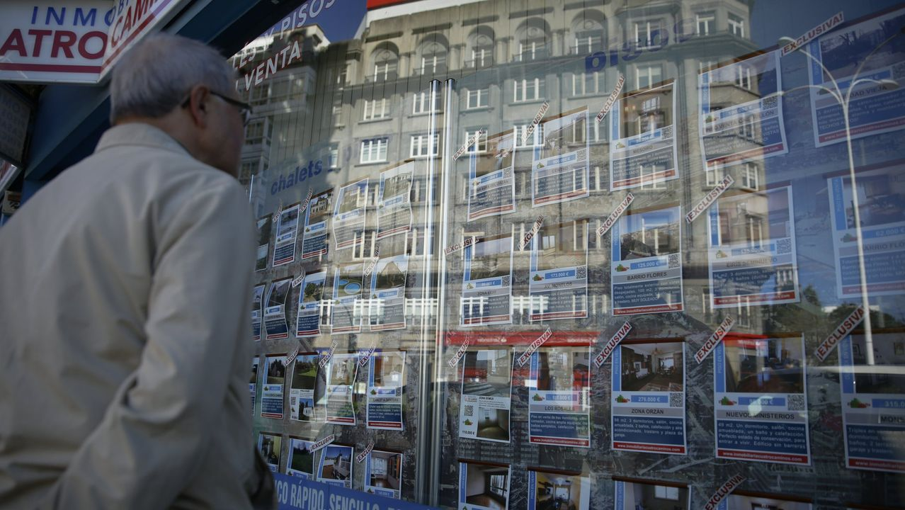 Inmobiliaria. Venta y alquiler de viviendas en A Coruña