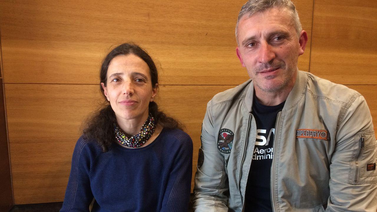 Sara Fernández Acevedo y Marco Antonio Rivero