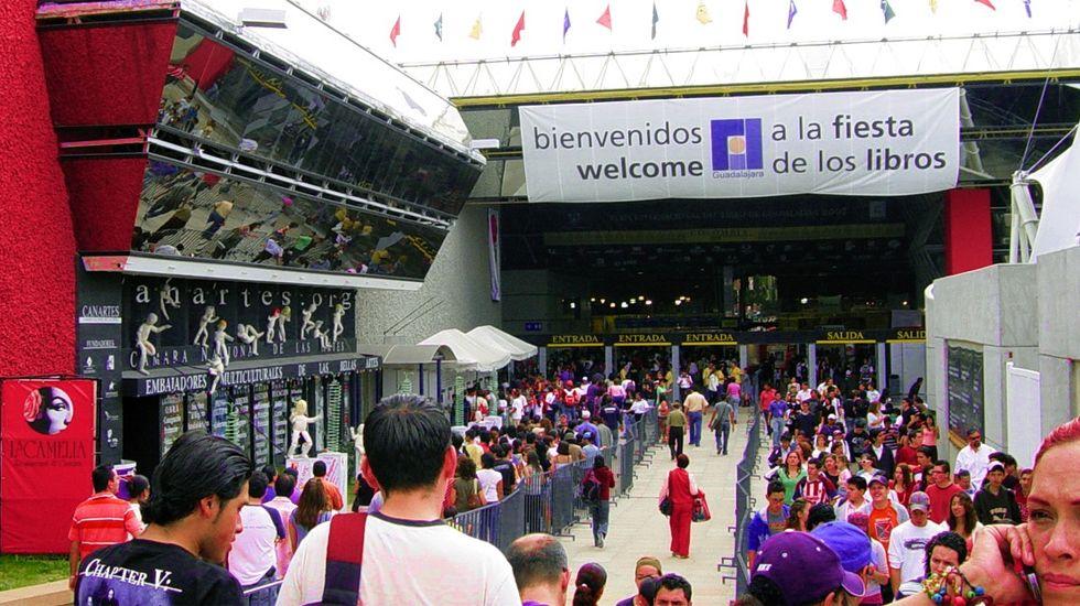 La feria del libro y de artesanía Mostrart se mantendrán con las «máximas medidas de seguridad».Feria del Libro de Guadalajara (México)