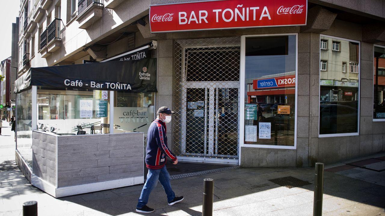 Inicio del curso en las guarderías privadas de A Coruña.Primer día en Arteixo tras las restricciones impuestas por la Xunta.