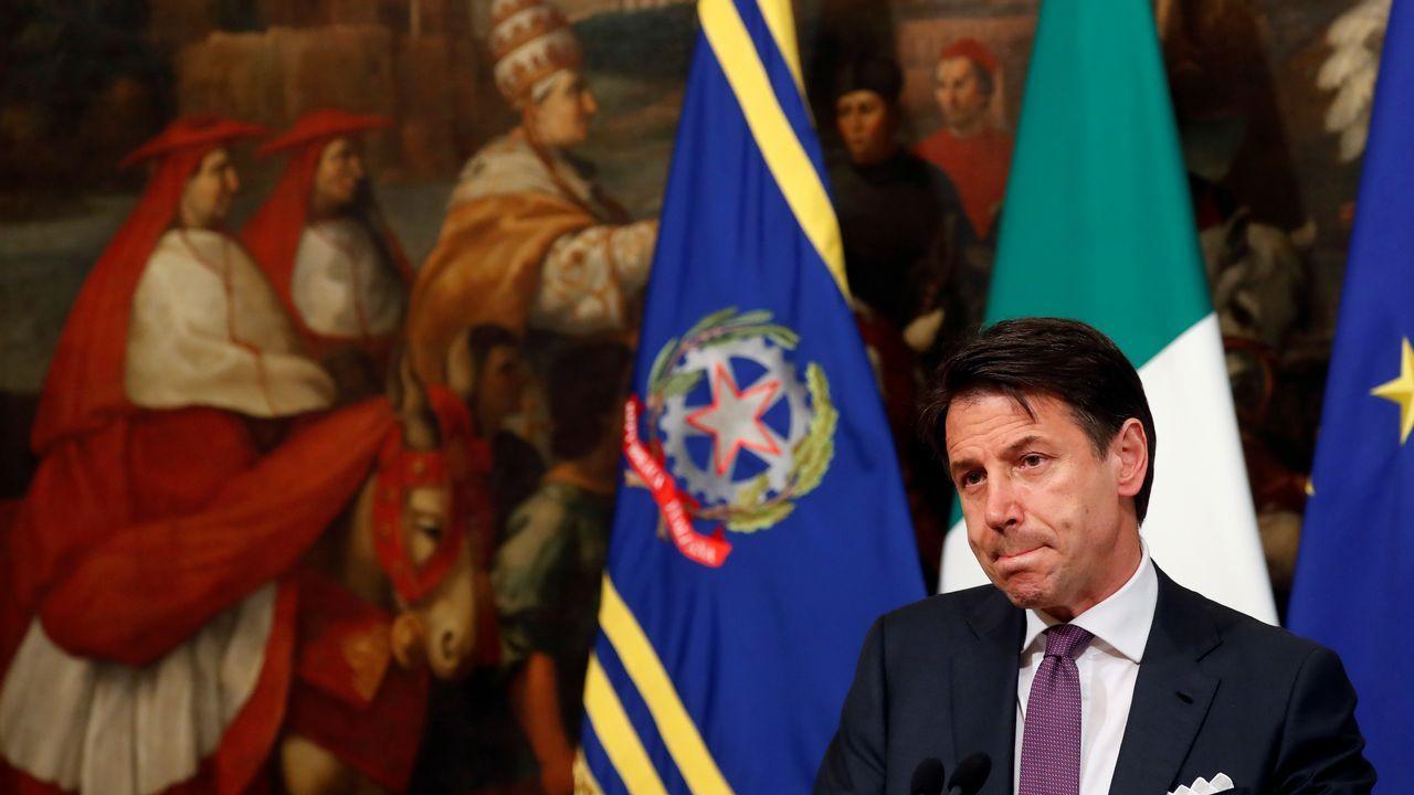 Toni Roldán abandona Ciudadanos por su giro a la derecha.Conte lanzó el ultimatum en una rueda de prensa en la sede del Gobierno en Roma.