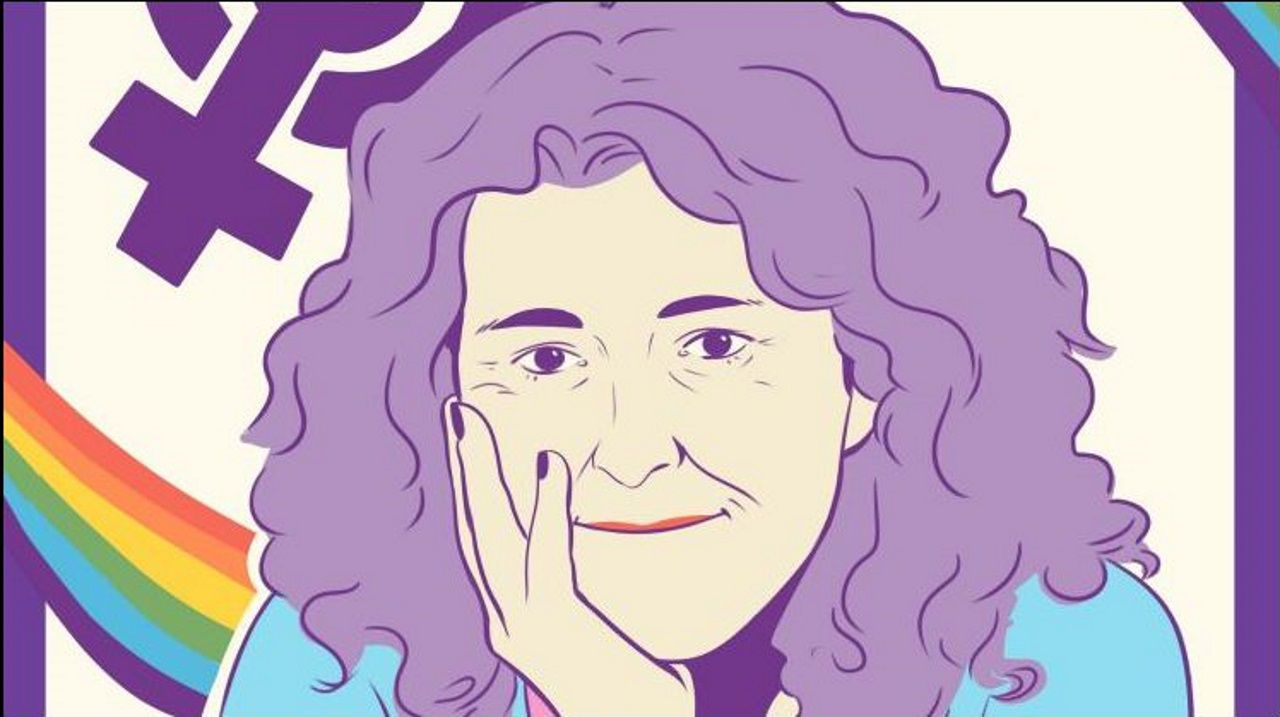 O material inclúe carteis de dez mulleres, coma Laura Bugalho