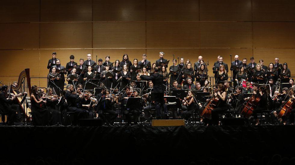 La Orquesta Gaos actuará en el Auditorio de Vilalba