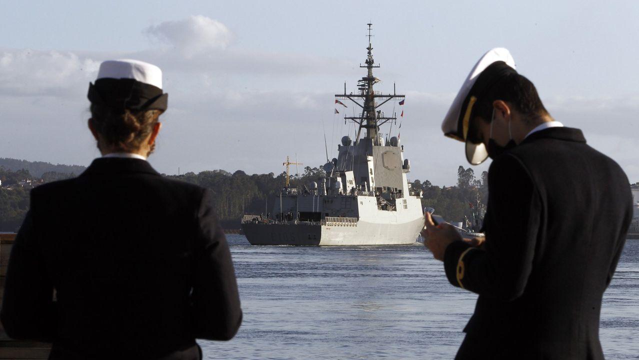 La Méndez Núñez inicia un despliegue de cuatro meses con la OTAN.La F-105 zarpó de Ferrol el 3 de noviembre