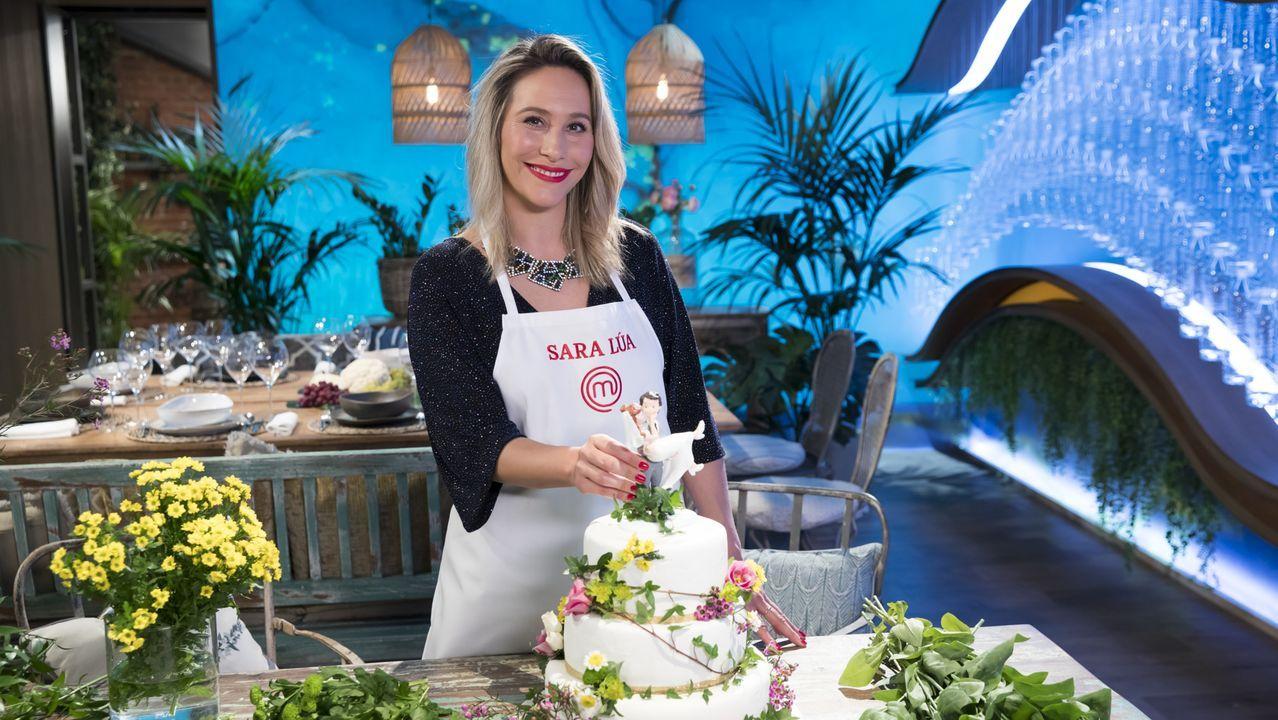 Los chefs de Estrellas Solidarios no Camiño promocionan la gastronomía y el paisaje gallego.Sara Lúa, durante la prueba de selección de «MasterChef».