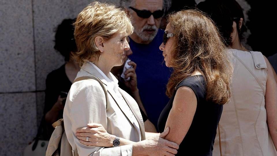 Tristeza en el adiós a Concha García Campoy