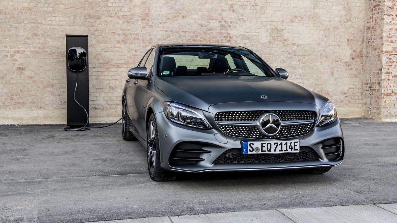 El nuevo Clase C 300-e de Mercedes