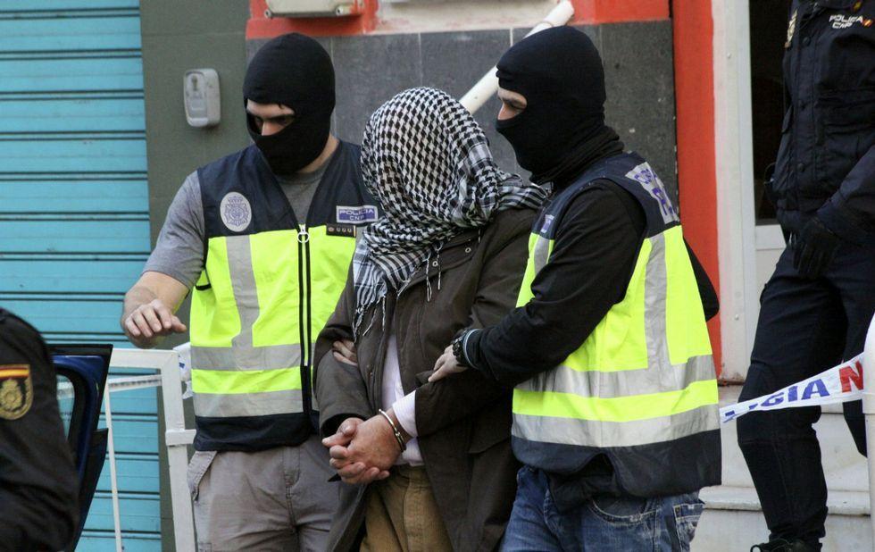 La mayoría de las detenciones contra yihadistas en España han sido por pertenecer a redes de captación.