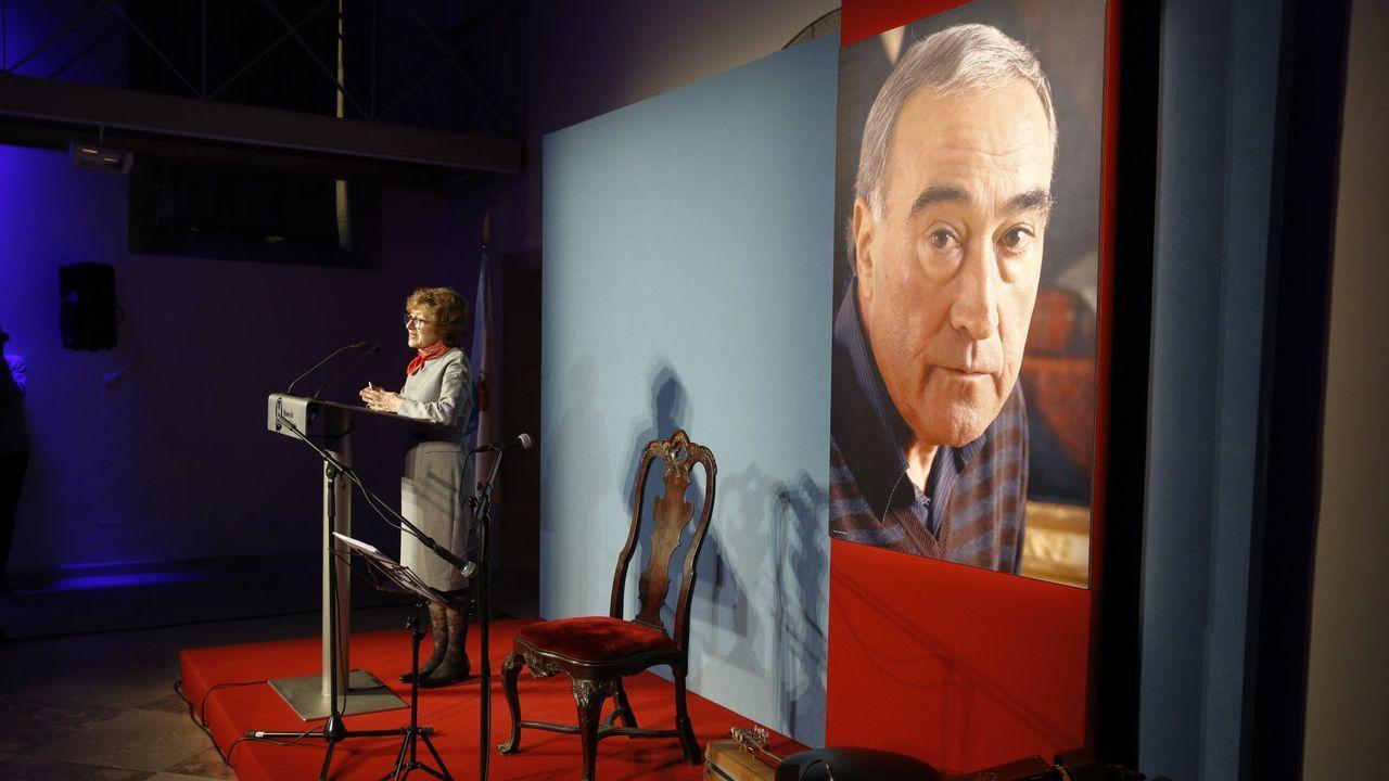 Homenaxe no 2018 a Carlos García Martínez no Museo do Pobo Galego