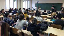 Reunión organizada por la Asamblea por el Futuro de la Investigación en Asturias