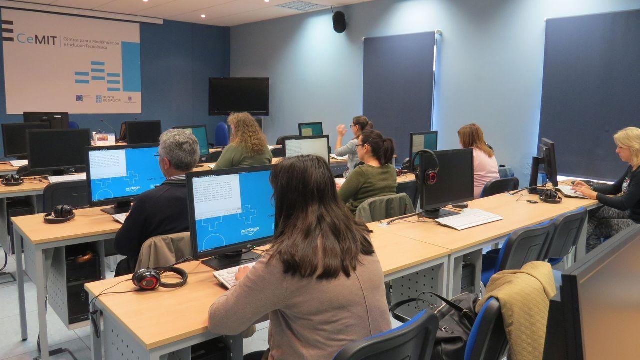 El aula CeMIT de La Molinera, en una foto de archivo