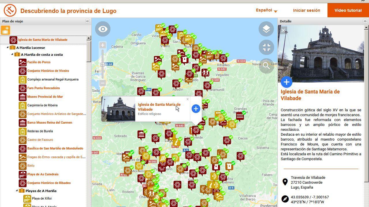 Las peores vistas de edificios desde la Muralla de Lugo.Infografía de cómo quedará la reforma del 134 de la Ronda da Muralla de Lugo