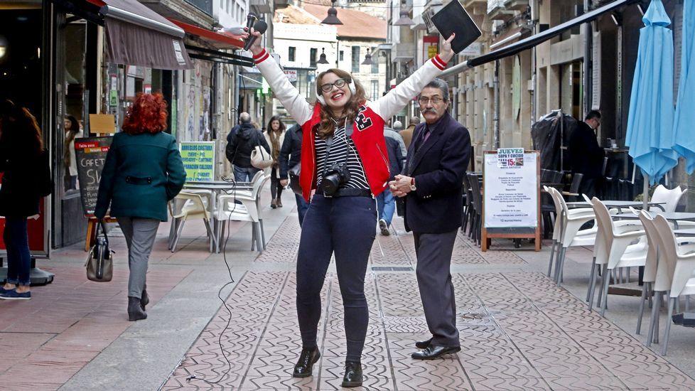 Una diputada de En Marea, obligada a volver de Nueva York para votar el decreto de la estiba.Natalio Grueso