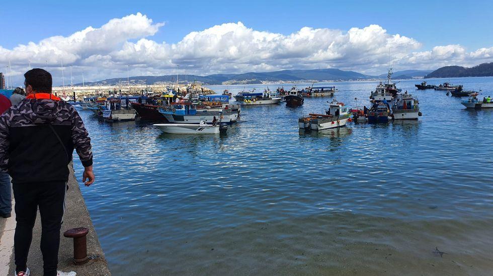 Las playas de bandera azul de la ría de Pontevedra 2021.El alcalde de Pontevedra recibió este sábado su primera dosis de la vacuna contra el covid
