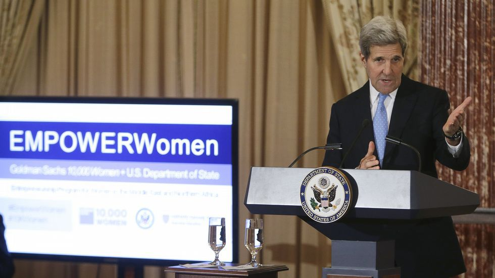 John Kerry, Secretario de Estado.