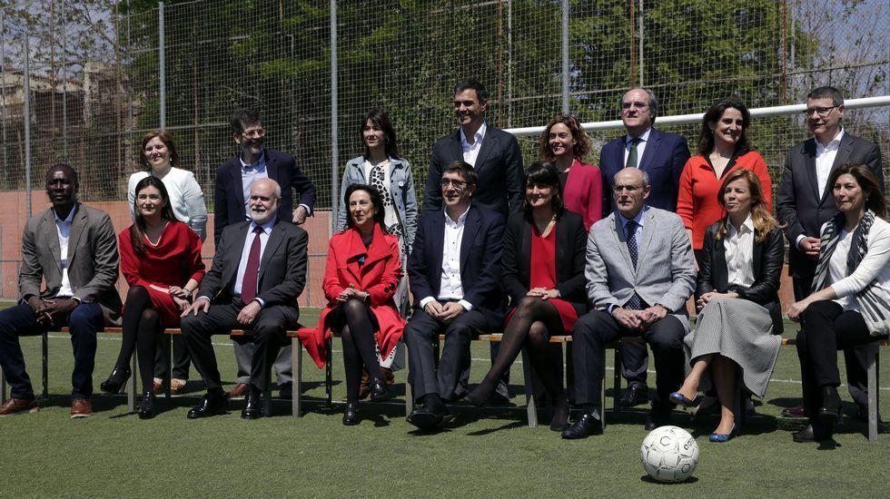 Pedro Sánchez presenta a sus ministrables