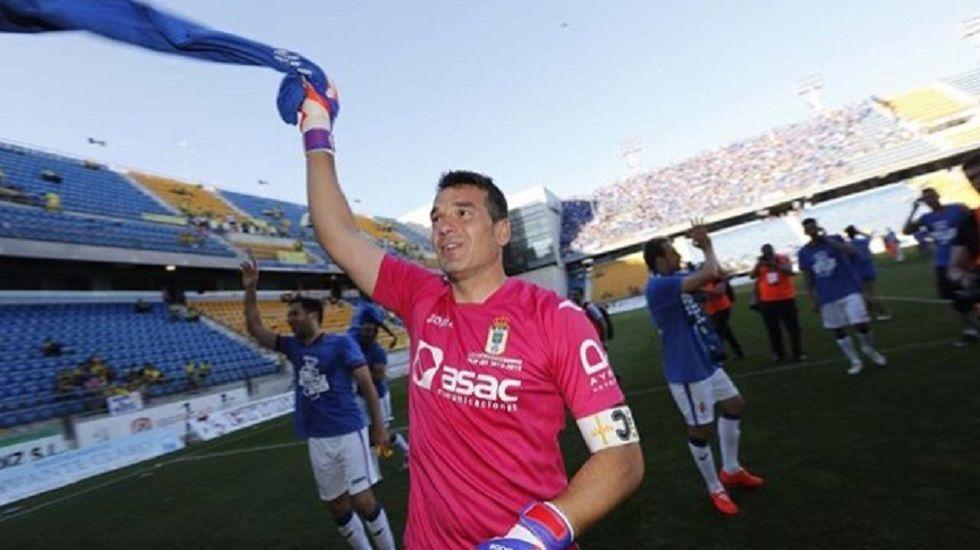 Jose Luis Oltra en su último encuentro con el Córdoba