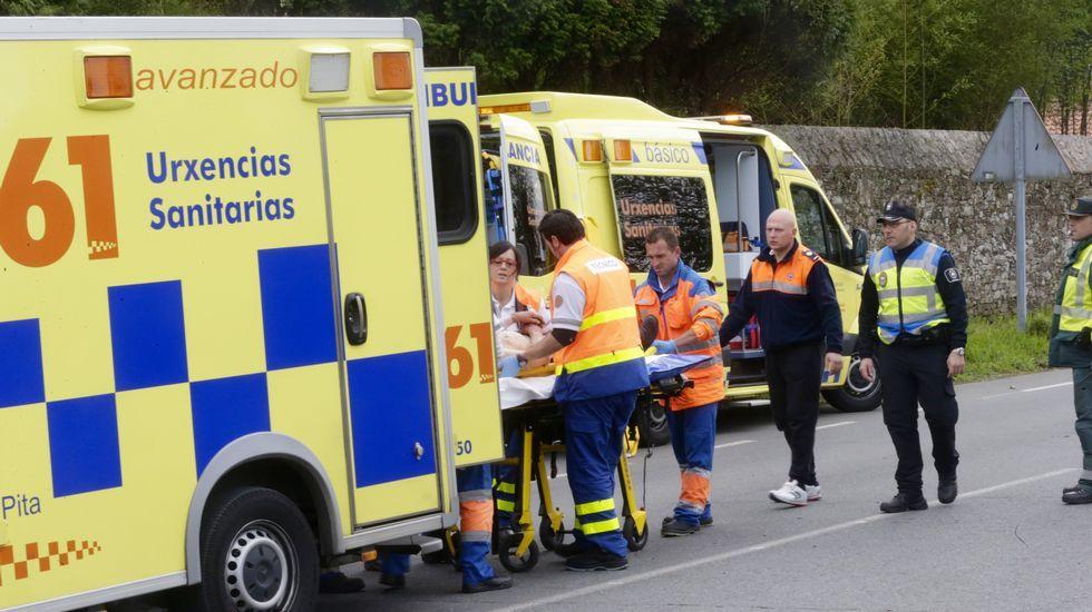 Ambulancias del 061, en una foto de archivo
