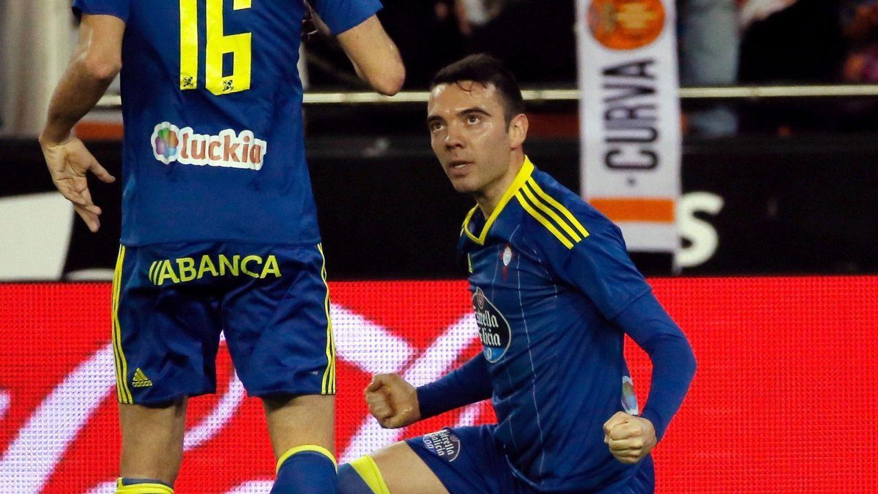 233 - Valencia-Celta (3-2) de Primera el 6 de abril del 2017