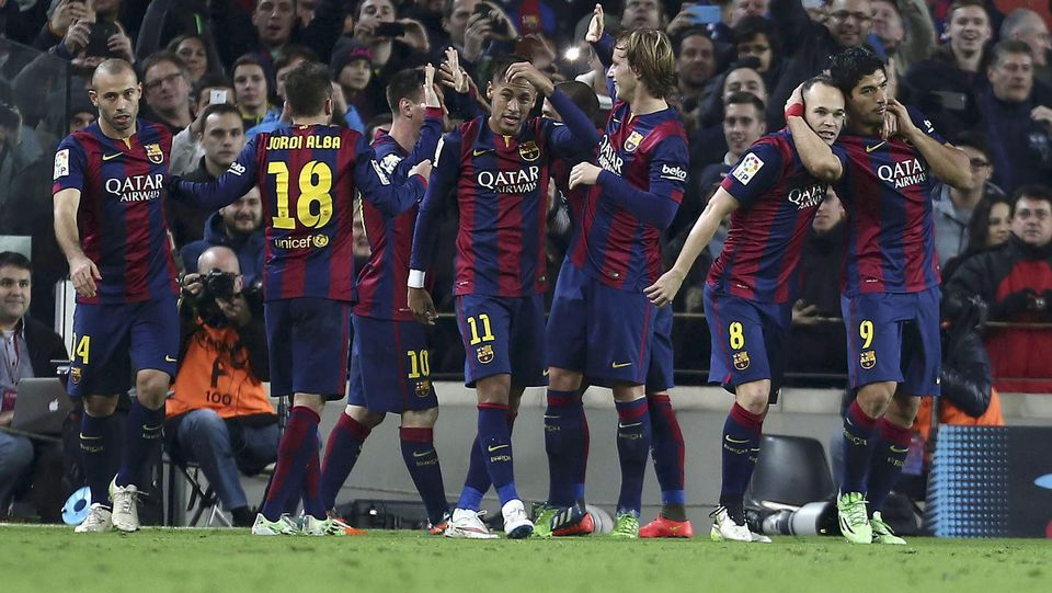 El Barcelona-Atlético de Madrid, en fotos