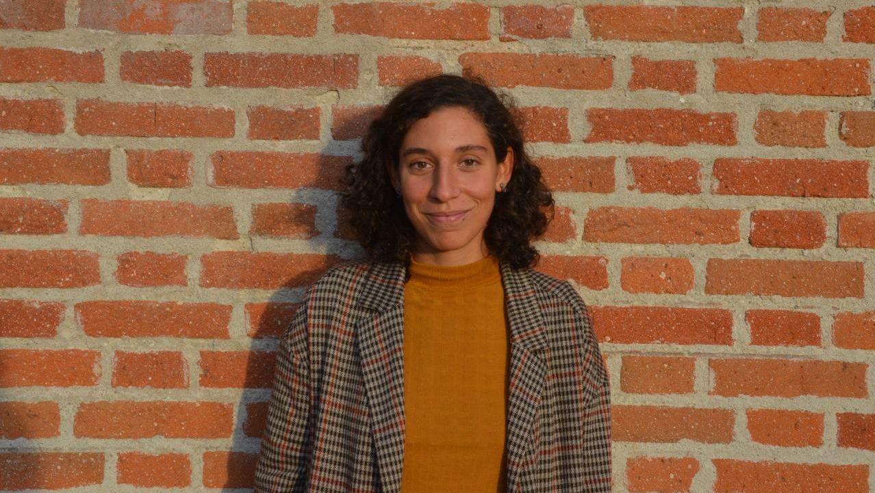 El Pórtico, al detalle,en la«app» de la Fundación Barrié.Clara Reigosa cursará un máster en xestión de museos en Nova York como bolseira da Fundación Barrié