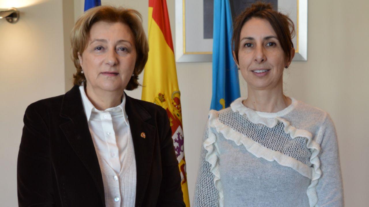 Delia Losa y Teresa Domínguez
