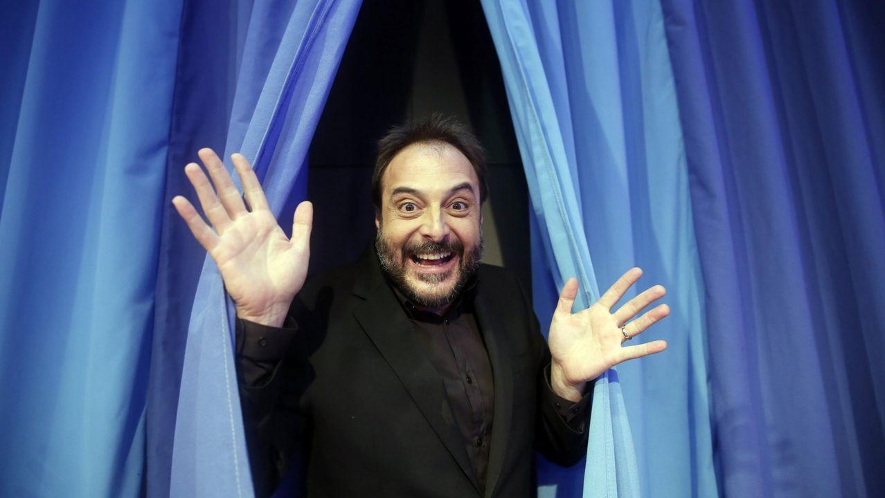 El presentador Roberto Vilar, de «Land Rober»