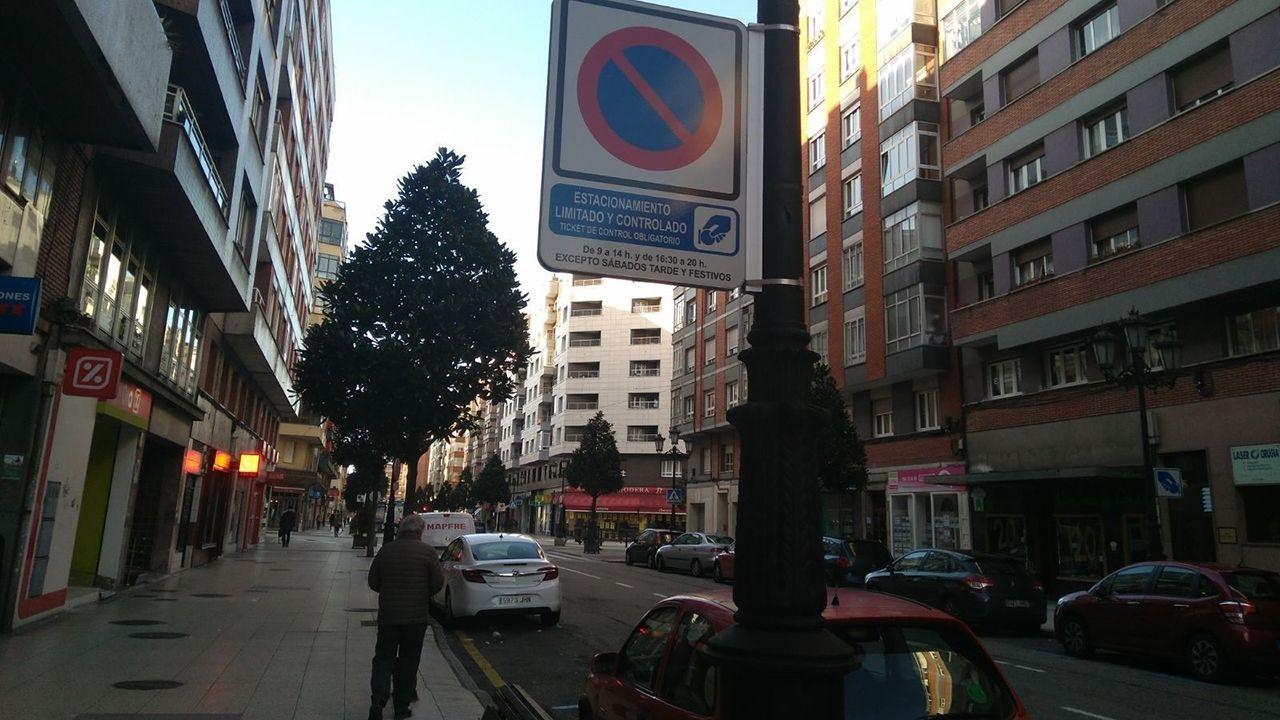 Zona Azul, estacionamiento regulado, Ora en Oviedo